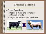 breeding systems7