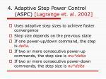 4 adaptive step power control aspc lagrange et al 2002