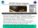 ncep climate support