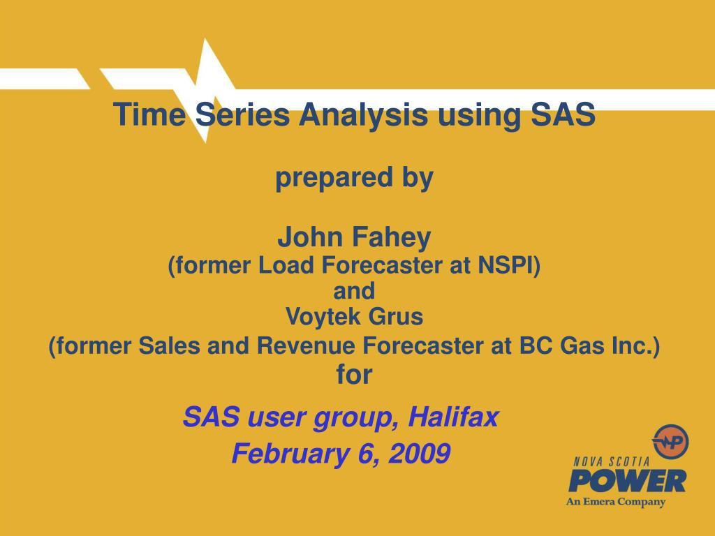 sas user group halifax february 6 2009 l.