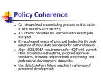 policy coherence20