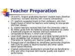 teacher preparation13