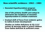 new scientific evidence 1962 1983