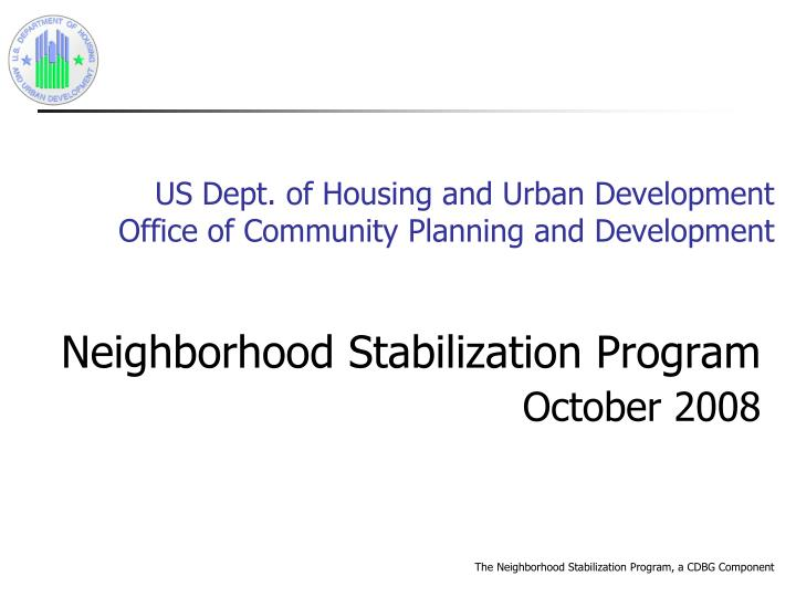 us dept of housing and urban development office of community planning and development n.