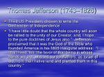 thomas jefferson 1743 1826
