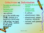 collectivism vs individualism17