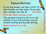 famous mottoes