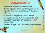 individualism 2