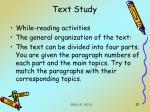 text study20