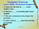 vocabulary exercise13