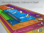 microsoft security defense in depth