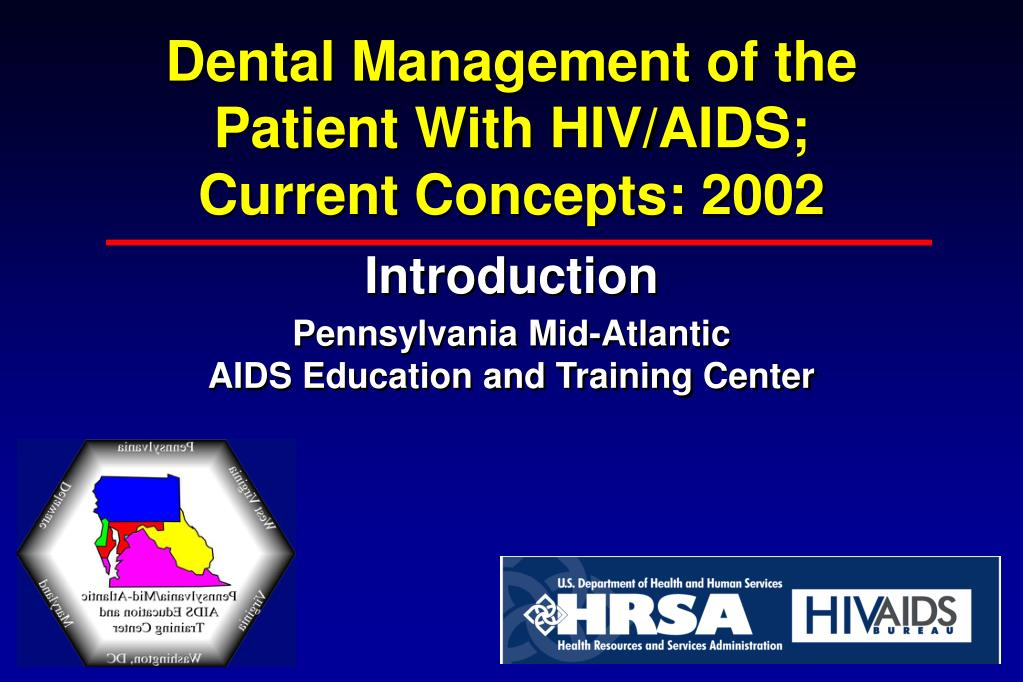 dental management of the patient with hiv aids current concepts 2002 l.