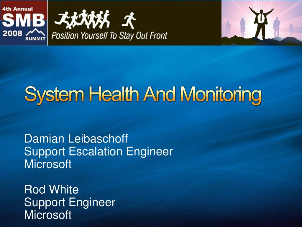 system health and monitoring l.