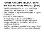 gross national product gnp and net national product nnp