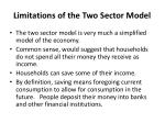 limitations of the two sector model
