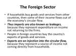 the foreign sector