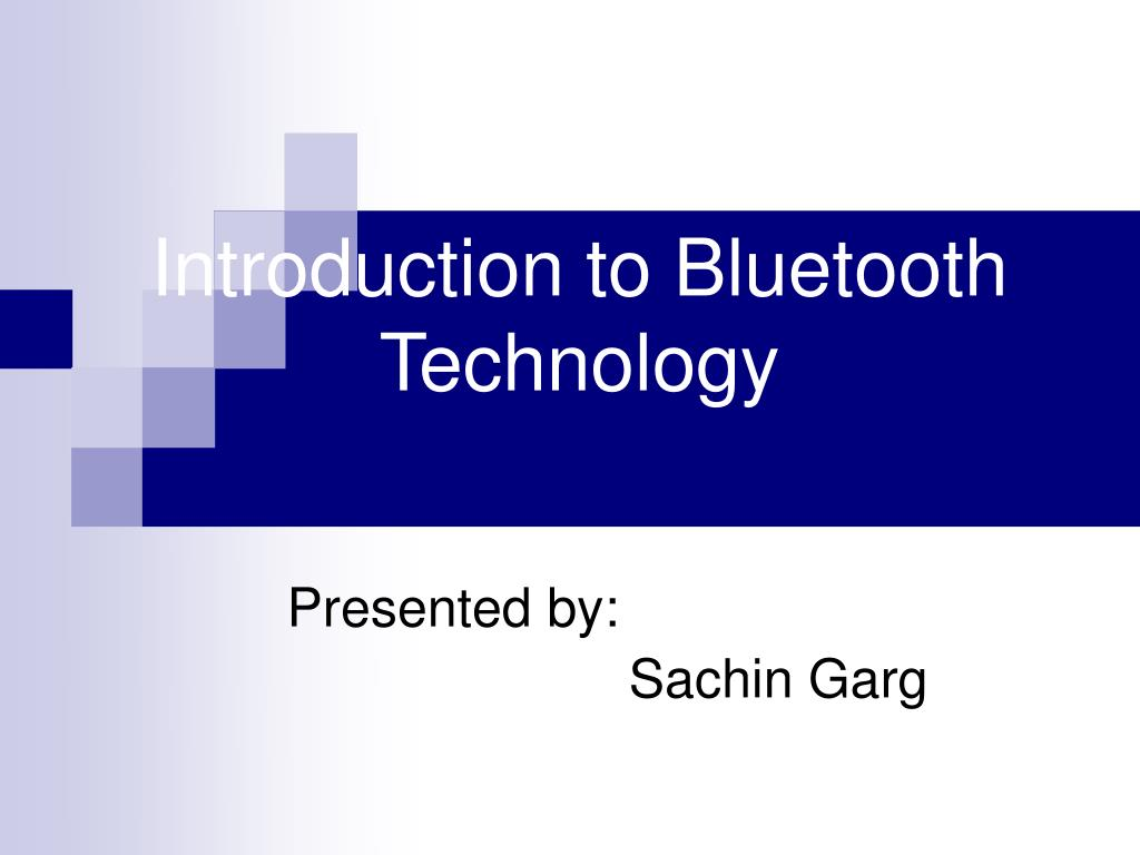 introduction to bluetooth technology l.