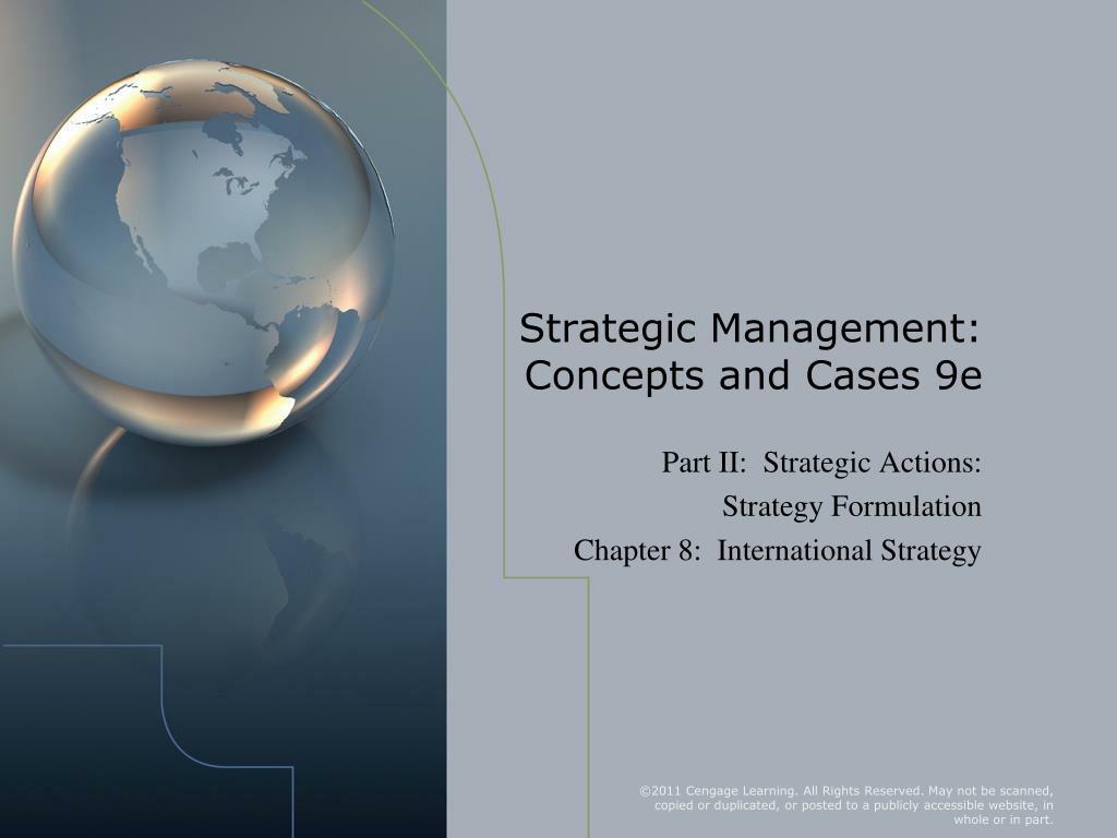 strategic management concepts and cases 9e l.