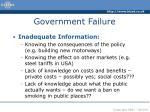 government failure11
