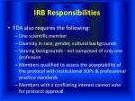 irb responsibilities27