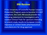 irb review32