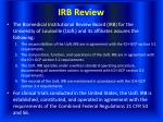 irb review33