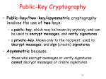 public key cryptography57