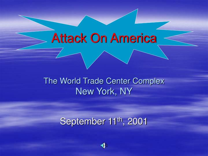 attack on america the world trade center complex new york ny n.