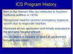 ics program history