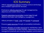 ics summary