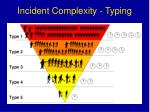 incident complexity typing