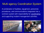 multi agency coordination system