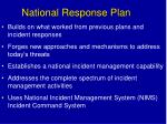 national response plan