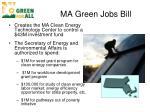 ma green jobs bill
