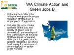 wa climate action and green jobs bill