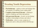 treating youth depression