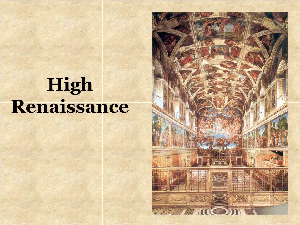 high renaissance l.