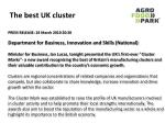 the best uk cluster