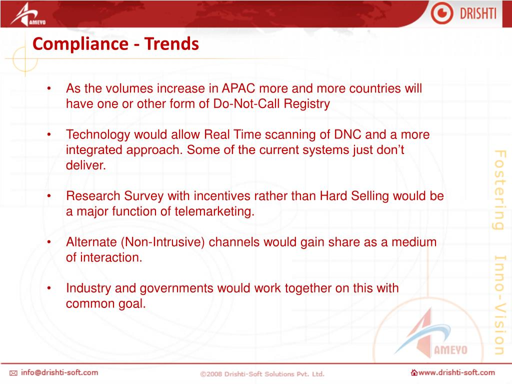 Compliance - Trends