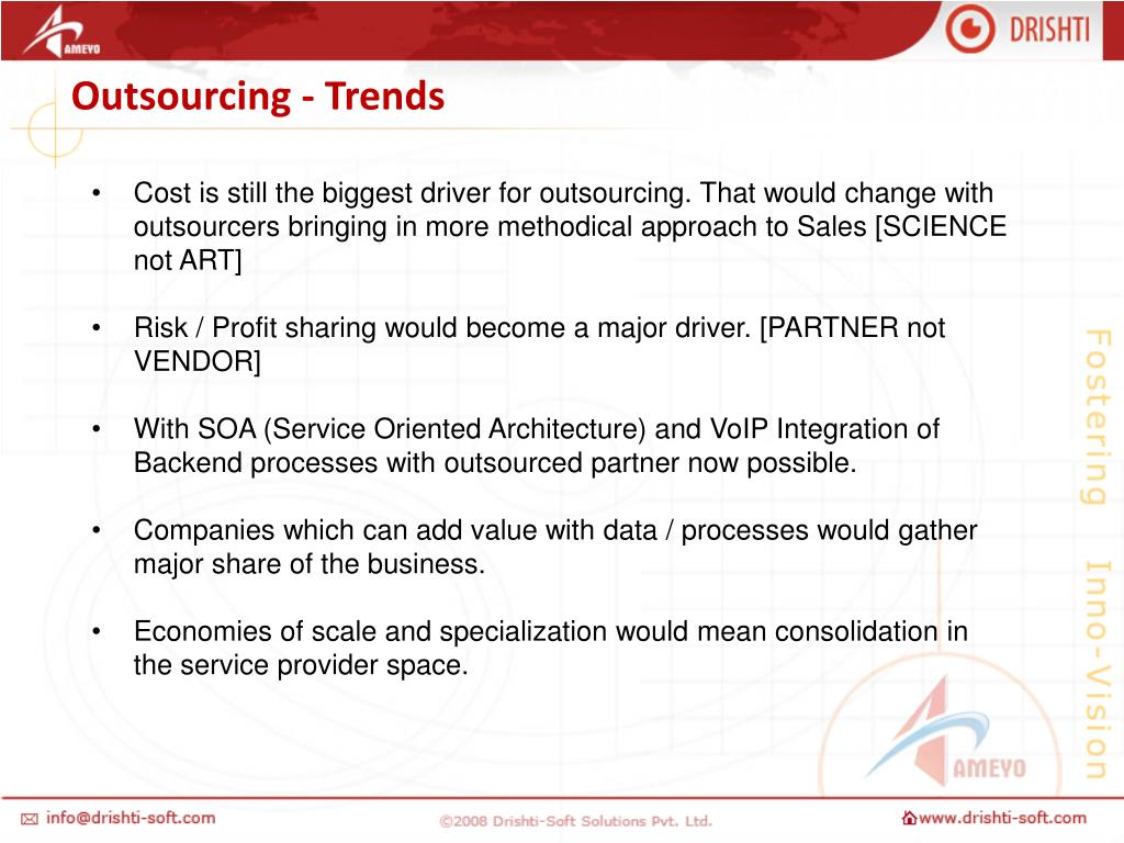 Outsourcing - Trends