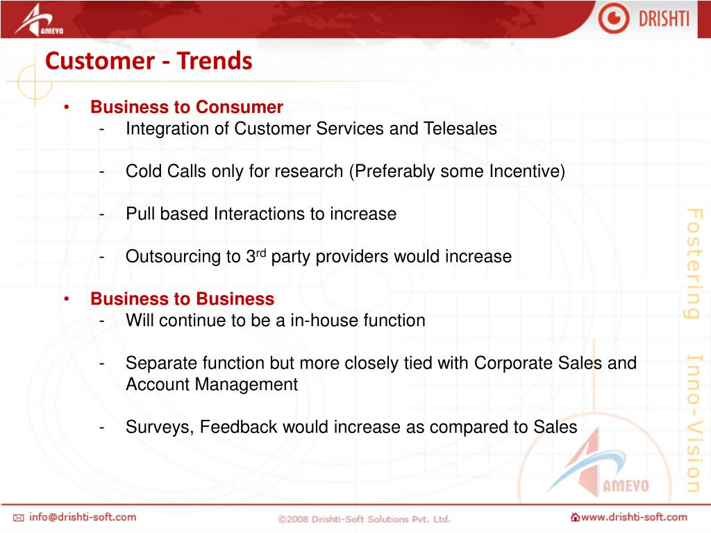 Customer - Trends