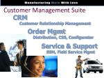 customer management suite