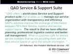 qad service support suite