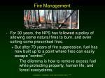 fire management44