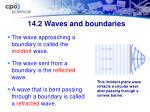 14 2 waves and boundaries1