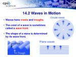 14 2 waves in motion