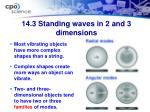 14 3 standing waves in 2 and 3 dimensions