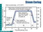 steam curing
