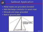 sailboat application