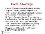 gates advantage